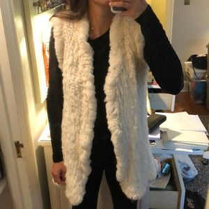 Real Fur Vest from Nordstrom